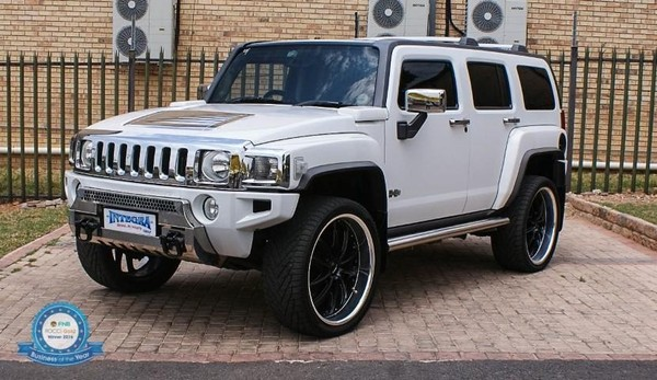 used hummer h3 luxury a t for sale in gauteng id 2681550. Black Bedroom Furniture Sets. Home Design Ideas