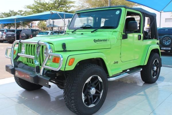 used jeep wrangler sahara 4 0 a t for sale in kwazulu. Black Bedroom Furniture Sets. Home Design Ideas