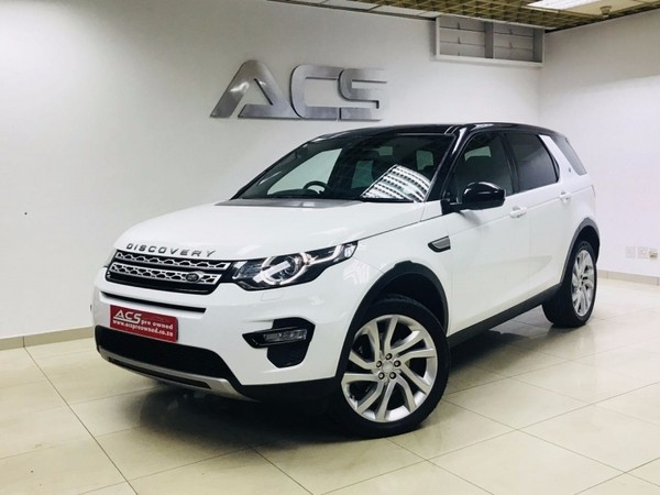 used land rover discovery sport 2 2 sd4 hse luxury auto 7 seater 50000kms for sale in gauteng. Black Bedroom Furniture Sets. Home Design Ideas