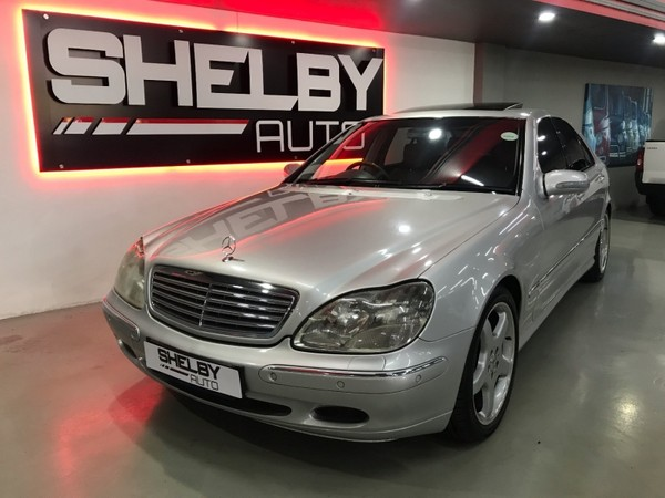 used mercedes benz s class s 55 amg for sale in gauteng id 2767360. Black Bedroom Furniture Sets. Home Design Ideas