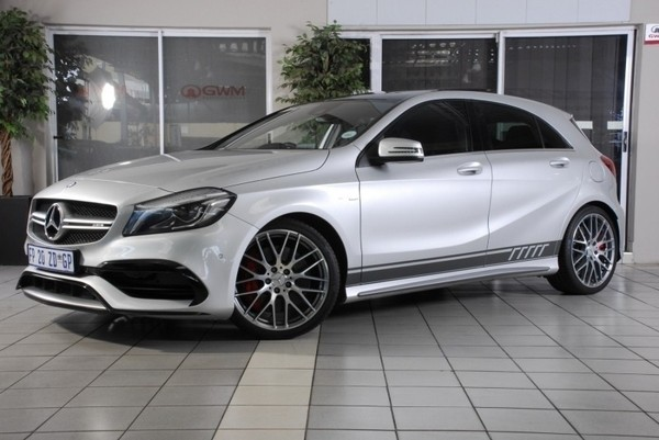 Used mercedes benz a class a45 amg 4matic for sale in for Mercedes benz financial report 2016