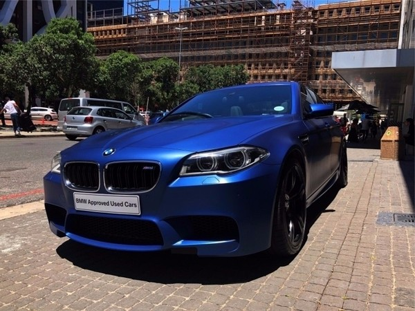 used bmw m5 m dct competition pack frozen blue original for sale in western cape. Black Bedroom Furniture Sets. Home Design Ideas