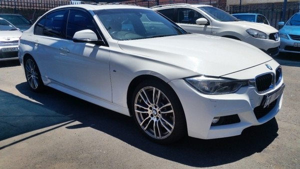 Used Bmw 3 Series 330d Sport Line Auto F30 Red Leather Interior For Sale In Gauteng