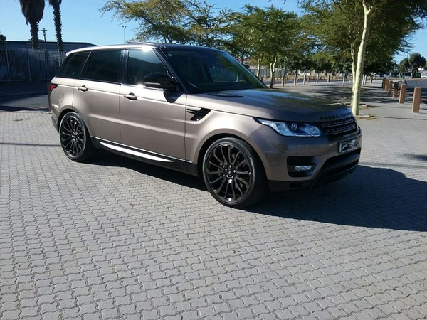 used land rover range rover sport 3 0 sdv6 se for sale in western cape id 2944312. Black Bedroom Furniture Sets. Home Design Ideas