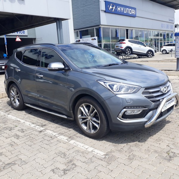 Used hyundai santa fe r2 2 awd elite 7s auto for sale in for Hyundai motor finance payoff phone number