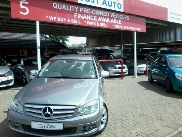 2008 Mercedes-Benz C-Class C350 Avantgarde At Free State Bloemfontein_0