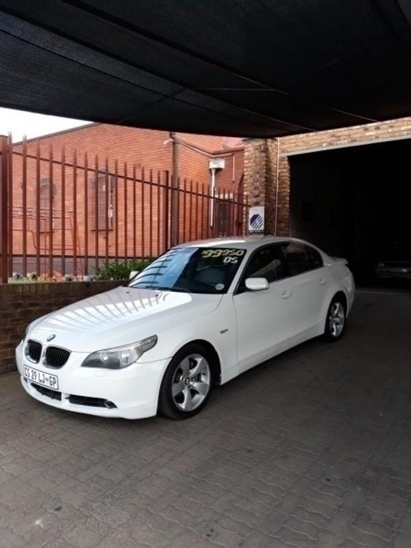 2005 BMW 5 Series 525i At e60 Gauteng Johannesburg_0