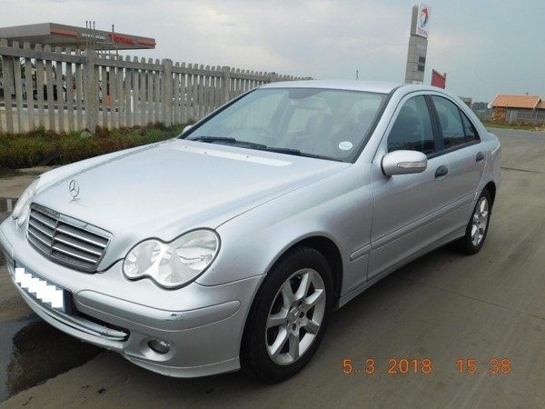 used mercedes benz c class c 180 kompressor a t for sale in gauteng id 3148103. Black Bedroom Furniture Sets. Home Design Ideas