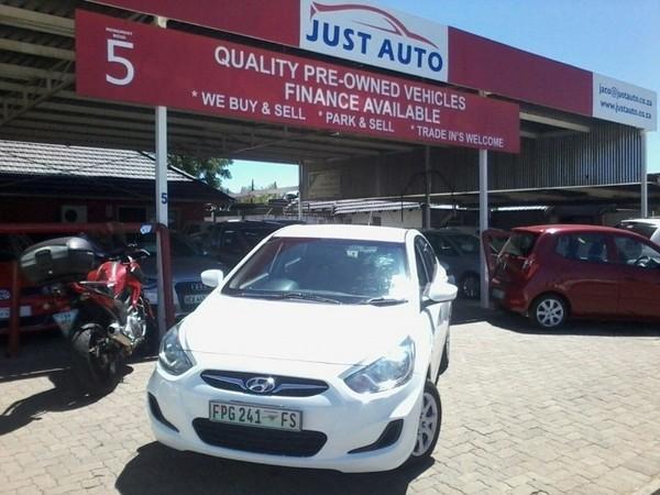 2012 Hyundai Accent 1.6 Gl  Free State Bloemfontein_0
