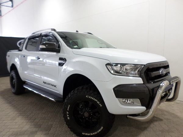 used ford ranger 3 2tdci 3 2 wildtrak 4x4 auto double cab bakkie for sale in western cape cars. Black Bedroom Furniture Sets. Home Design Ideas
