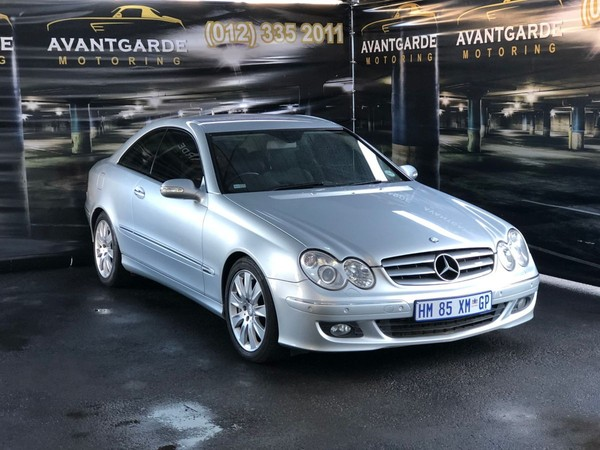 used mercedes benz clk class clk 500 coupe for sale in gauteng id 3660824. Black Bedroom Furniture Sets. Home Design Ideas