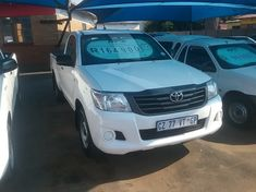 2014 Toyota Hilux 2.0 Vvt-i Pu Sc Gauteng Pretoria