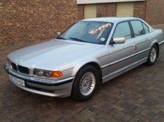 2001 BMW 7 Series 740i At m62 e38 Gauteng Kempton Park