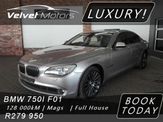 2009 BMW 7 Series 750i Individual f01 Gauteng Vereeniging