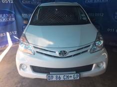 2015 Toyota Avanza 1.3 Fc Pv Gauteng Rosettenville