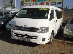 2009 Toyota Quantum 2.7 10 Seat  Gauteng Lenasia