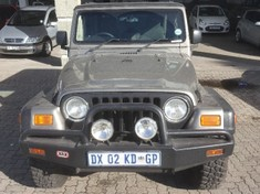 2004 Jeep Wrangler Sahara 4.0 Western Cape George