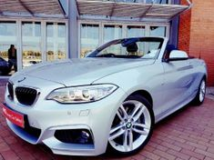 2016 BMW 2 Series 220i Convertible M Sport Auto F23 Gauteng Sandton