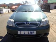 2005 Toyota Corolla 140i Ac  Gauteng Johannesburg