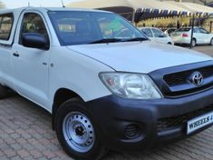 2010 Toyota Hilux 2.0VVti With Canopy Gauteng Pretoria