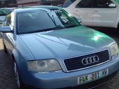 2002 Audi A6 3.0 Multitronic  Gauteng Boksburg
