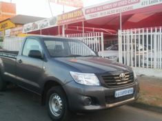 2012 Toyota Hilux 2.0 VVTi AC Single Cab Bakkie Gauteng Johannesburg