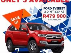 2017 Ford Everest 3.2 TDCi XLT Auto Kwazulu Natal Hillcrest