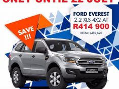 2017 Ford Everest 2.2 TDCi XLS Auto Kwazulu Natal Hillcrest