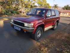 1993 Toyota Hilux 2.4 Dt 4x4 Surf Pu Sc Gauteng Pretoria West