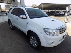 2011 Toyota Fortuner 3.0d-4d Rb At  Gauteng Pretoria