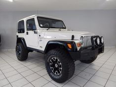 1998 Jeep Wrangler Sahara 4.0 6sp  Gauteng Hatfield