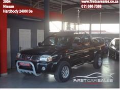 2004 Nissan Hardbody 2400i Se j24 Pu Dc Gauteng Johannesburg