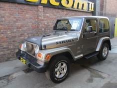 2004 Jeep Wrangler Sahara 4.0 At  Gauteng Pretoria