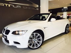 2012 BMW M3 Convertible M Dynamic M-dct  Gauteng Four Ways