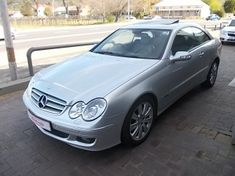 2007 Mercedes-Benz CLK-Class Clk 350 Coupe At  Western Cape Paarl