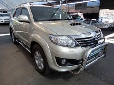 2012 Toyota Fortuner 3.0d-4d 4x4 At  Gauteng Pretoria