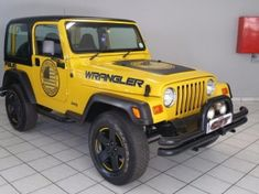 2001 Jeep Wrangler Sahara 4.0 6sp Gauteng Hatfield