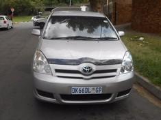 2009 Toyota Verso 1.6 Sx  Gauteng Johannesburg