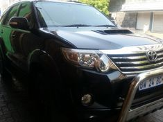 2012 Toyota Fortuner 3.0d-4d Heritage Rb  Gauteng Johannesburg