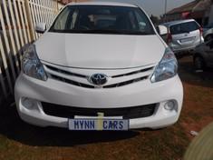 2013 Toyota Avanza 1.5 Sx  Gauteng Jeppestown