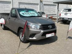 2016 Toyota Hilux 2.0 VVT Single Cab Bakkie Free State Kroonstad