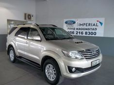 2011 Toyota Fortuner 3.0d-4d 4x4 At Free State Kroonstad