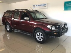 2007 Nissan Navara 4.0 V6 4x4 Pu Dc with Canopy and winch Western Cape Strand