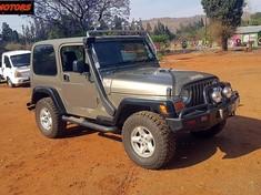 2004 Jeep Wrangler Sahara 4.0 6sp  North West Province Rustenburg