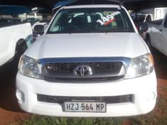 2010 Toyota Hilux 2.5d-4d Pu Sc  Gauteng Pretoria