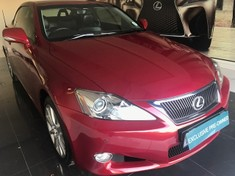 2010 Lexus IS 250 Convert  Gauteng Pretoria