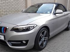 2015 BMW 2 Series 220i Convertible Sport Line Auto F23 Gauteng Pretoria