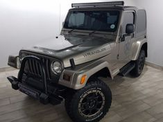 2003 Jeep Wrangler Sahara 4.0  Free State Bloemfontein