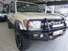 2017 Toyota Land Cruiser 79 4.2d Pu Dc  Limpopo Polokwane