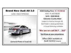 2017 Audi A8 3.0 TDi Quattro Mpumalanga Secunda